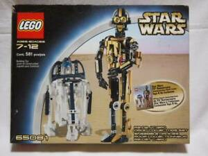 Lego Star Wars R2-D2 C-3Po Droid Collectors Set 65081