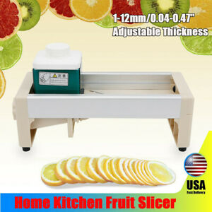 Commercial Manual Onion Fruit Vegetable Cutter Slicer Cutting Machine Safe USA