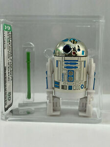 R2-D2 Pop-Up Saber Kenner Vintage Star Wars Loose AFA 80 NM 1984 ROTJ POTF