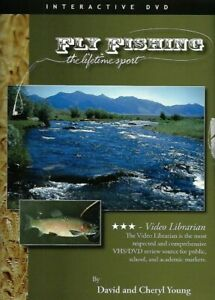 💿 FLY FISHING: The Lifetime Sport DVD 2005 Interactive DVD Catch amp; Release