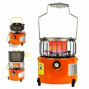 Camping Stoves Heater Cooking Portable 2 in 1 Tourist Equipment Cold Climate New