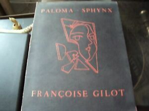 SIGNED Picasso Paloma amp; Francoise Gilot Sphinx book Limited Edition $299.99