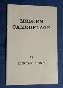Modern Camouflage By Duncan Long.
