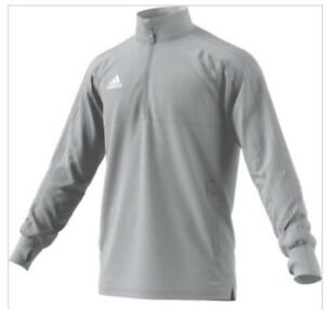 ADIDAS CONDIVO 18 TRAINING TOP 2 Sz Small Gray $25.00