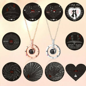 Personalized Custom Name Necklace Love You Custom Jewelry Projection 13 Styles $37.84