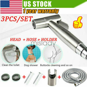 Premium Stainless Steel Handheld Diaper Shattaf Toilet Bidet Sprayer Shower Head
