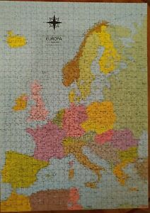 1008 Piece Jigsaw Puzzle of Cold War Europe