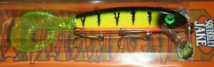 9quot; Squirrely Jake Musky Mania Pike Lure Crankbait Glitter Perch SQJ9 16