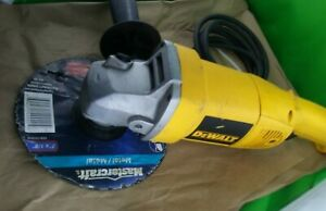 Dewalt angle grinder 5quot; DW831 120v 12a 10000 rpm TESTED working with disc C $147.00