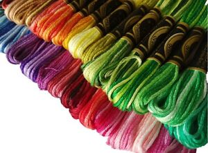 VARIEGATED DMC 1 Skein PICK YOUR COLORS #48 126 Including Discontinued Colors