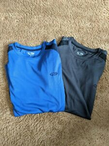 Set of 2 Boys Champion Duo Dry T shirts, Size Med, Short Sleeves $5.99