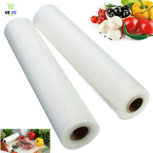 Vacuum Sealer Rolls Sous Vide Bags Food Vac Storage Saver 28x500cm BUY 1 +1 FREE