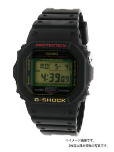 Used CASIO Unisex DW-5600TMN-1JR G-SHOCK MANEKINEKO Black Eye Patch Design Japan