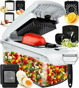 Vegetable Chopper Onion Chopper Dicer - Peeler Food Chopper Salad Chopper Vegeta