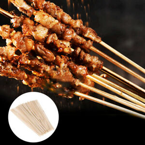 Bamboo Skewers Wooden BBQ Kebab Fruit Party Buffet Food Disposable Meatba Nz