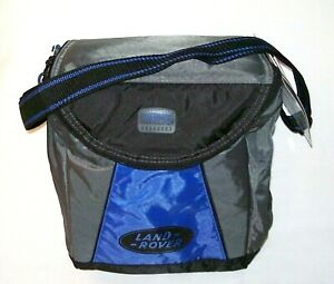 NWT Soft Insulated Cooler Bag Lunch Box Bag w/Strap by Thermos LAND ROVER logo