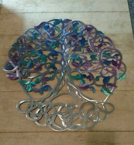 Metal wall art large tree of Life plasma cut home decor living room art Décor $225.00
