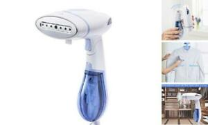 WOLMIK Steamer for Clothes, Handheld Garment Steamer, 15s Fast Heat-Up, White