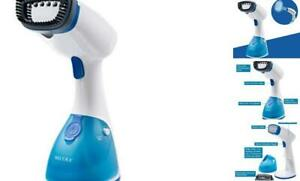 Secura Garment Steamer for Clothes, Portable Light Blue and Pearl White