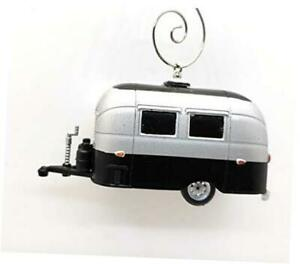 Airstream Bambi Camping Trailer Custom Christmas Ornament 1:64 Diecast