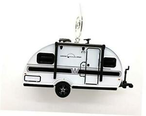 2017 Winnebago Camping Trailer Custom Christmas Ornament 1:64 Diecast