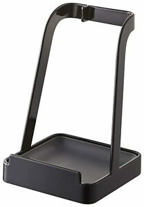 Yamazaki Tower Ladle Holder - Lid Stand for Utensils in Kitchen, Black