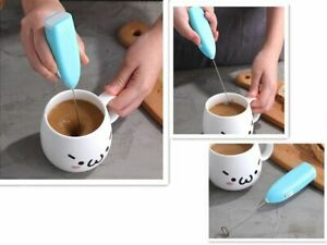 Milk & Coffee Frother Mixer Electric Egg Beater Mini Handle Kitchen Cooking Tool