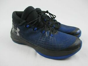 NEW Under Armour NXT TB Blue Black Basketball Shoes Men's 14 $71.99