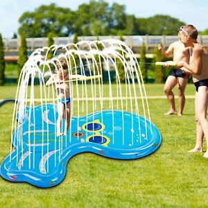 Soopotay Splash Pad for Toddlers and Kids Splash Play Mat 68 for 1 2 3 4 5