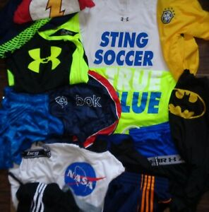Under Armour Nike Adidas Multi Lot Hoodie Pants Shorts T Shirt Shorts Boys S $7.06