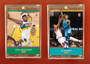 Zion Williamson Ja Morant 2 card set Generation Next