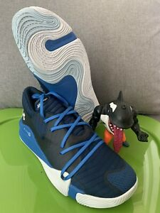Under Armour Size 14 Spawn Low Men Basketball Shoes Blue 3021263 400 $69.95