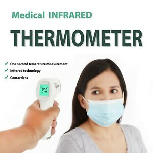 Digital Medical Infrared Forehead Thermometer Grade Contactless FREE SHIPPING $29.99
