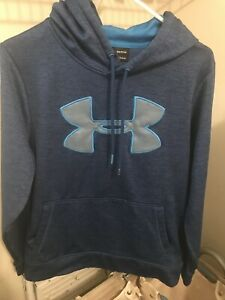 Under Armour Men's Armour Fleece Big Logo Graphic Hoodie Size SMALL $20.00