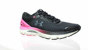 Under Armour Womens Charged Intake 3 Black Running Shoes Size 10 1282517 $40.47