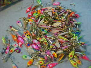 50 NEW assorted SIZE 8 JIGS PANFISH ICE FISHING JIG CRAPPIE bluegill for rod