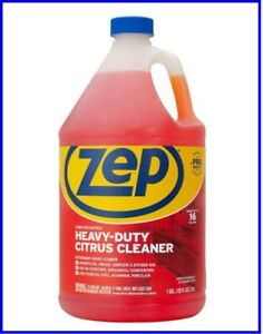 ZEP ZUCIT128CA Citrus Cleaner and Degreaser Citrus Scent 1 gal Bottle