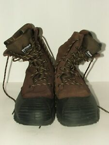 Rocky Thinsulate Boots # 7908 031077 Leather amp; Rubber Hunting Boots Size 10M