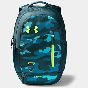 UNDER ARMOUR HUSTLE 4.0 BACKPACK UA STORM TECH CAMO $39.00