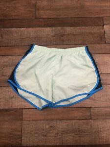 Girl's XL Nike Tempo Lined Running Shorts Mint & Blue $12.00
