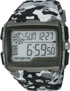Timex Expedition Grid Shock Watch Gray Camouflage