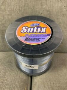 Sufix Superior Monofilament Fishing Line 50# Smoke Blue 2.2lb Spool
