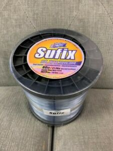 Sufix Superior Monofilament Fishing Line 60# Smoke Blue 2.2lb Spool