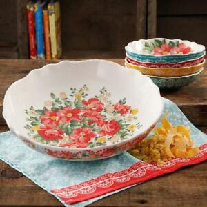 The Pioneer Woman Vintage Floral 5-Piece Pasta Bowl Set *FREE SHIPPING*