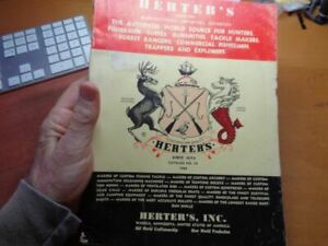 Vintage 1964 Herter's Catalog No. 74 Hunting, Fishing, Reloading