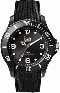 Ice Watch ICE sixty nine Black Men's wristwatch with silicon strap 007265