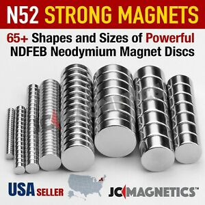 Super Strong N52 50 45 Rare Earth Neodymium Magnet Disc for Science Fridge DIY $9.25