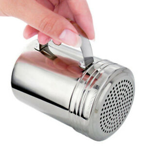 Stainless-Steel Cruet Salt/Pepper Seasoning-Condiment  Shaker Bottle BBQ