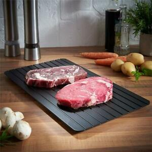 Fast Defrost Tray Plate Rapid Thaw Heating Tray Magic Defroster Meat Fish Steak