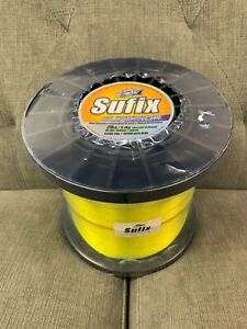 Sufix Superior Monofilament 20# Hi-Vis Yellow (4.4lb Spool) Fishing Line